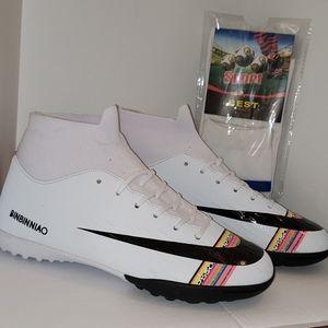 New BINBINNIAO Soccer Shoes.